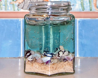 Shell Candle, Beach Candle Decor, Beach Decor Candles, Best Scented Candles, Scented Gel Candle, Best Friend Candle, Best Soy Candle,Candles