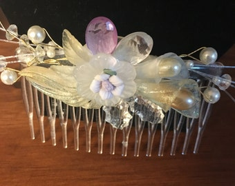 Handmade Special Occasion Hair Comb