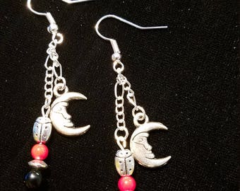 lady bugs chained to the moon
