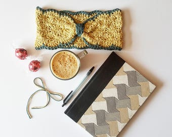 Ella's Headband pdf crochet pattern