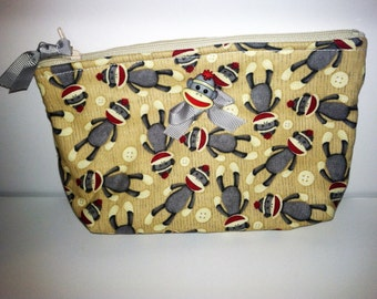 Quilted Zippered Small Bag
