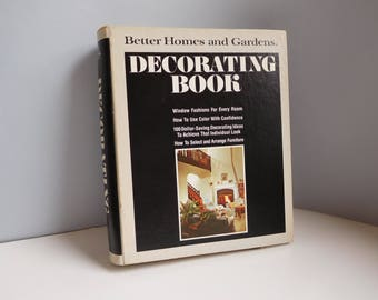 Vintage 1975 decorating book Better Homes and Gardens notebook decorating book
