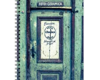 Notebook A5 - Old Door
