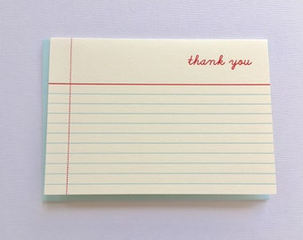 Thank You Birds Gold & Silver Bunting Blank Greeting Card