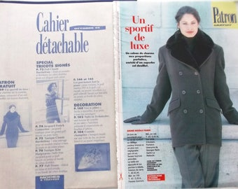 BOSS Modes & work PEACOAT for women embellished with a removable collar October 93