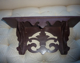 Black Forest Inspired Wooden Shelf