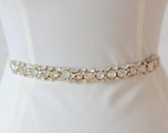 """Jaxie """"Gwen"""" Bridal Belt"""