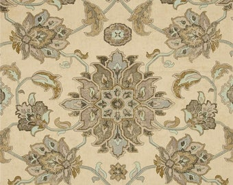 Brooklyn Graphite, Magnolia Home Fashions - Cotton Upholstery Fabric By The Yard
