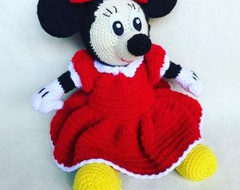 Crochet Minnie Mouse