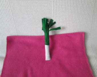 Collectible felt leek