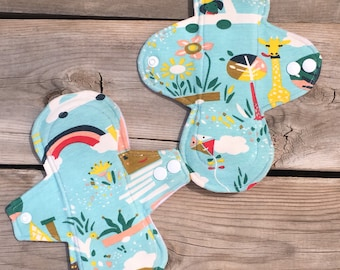 Whimsical Cloth Pad Set