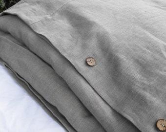 Linen Duvet Cover, Linen Bedding, Duvet Cover, Linen Duvet, Comforter Cover, Natural Linen Duvet Cover,