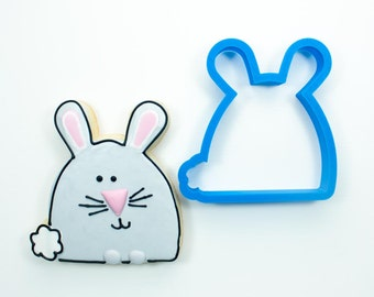 Simple Bunny Cookie Cutter