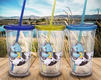 Sea Cow Dugong // Moogong Drinkware // Tumbler / Straws / Reusable Cups
