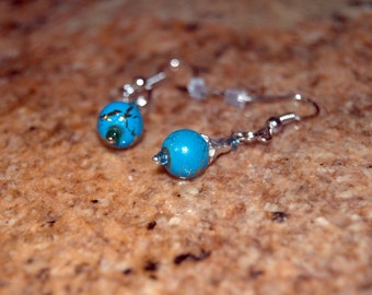 Turquoise Southwest Style Earrings