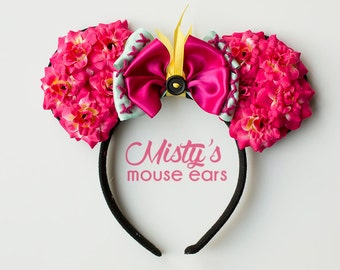 Inspired Scrump from Lilo and stitch Rose Mouse Ears