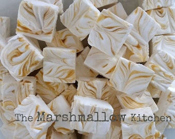 Large Handmade Salted Caramel Marshmallows