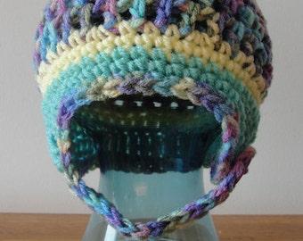 PDF Crochet Pattern - Kade Beanie - INSTANT DOWNLOAD