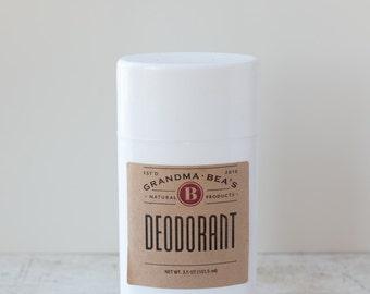 Deodorant - natural deodorant