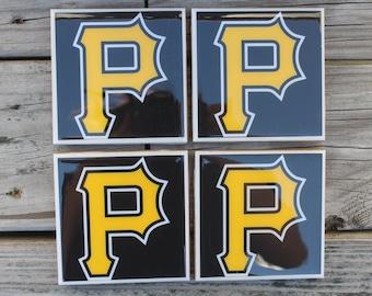 Pittsburgh Pirates coaster set