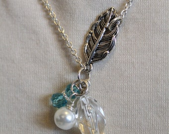 Leaf & Sea Necklace