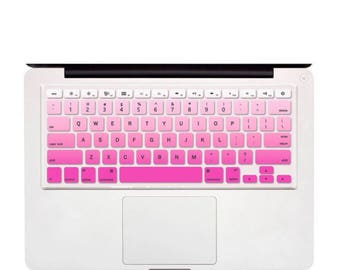 "Gradient Ombre Colors UK/US layout Keyboard Cover Silicone Skin for MacBook Pro, Air 13"" 15"" 17"" Retina"