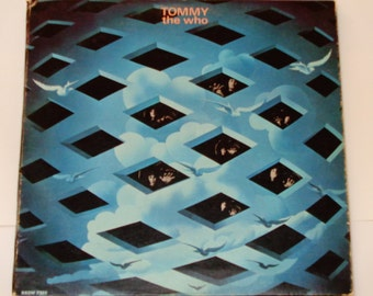 "The Who - Tommy - Rock Opera - ""Pinball Wizard"" - ""Amazing Journey"" - Original Decca 1969 - Vintage Vinyl Tri-fold 2 LP Record Album"