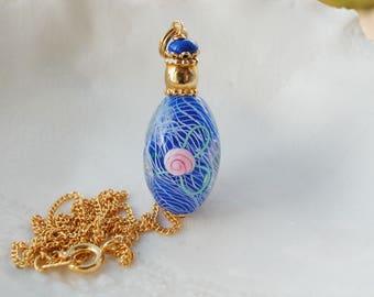 Murano Reticello Oval Glass Necklace