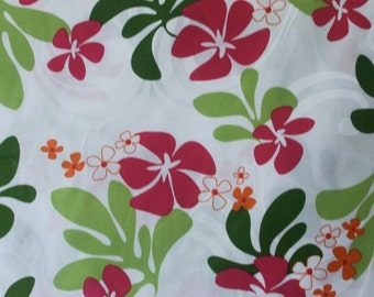 Cute Hawaiian Print  (Yardage Available)