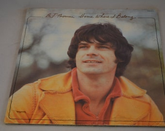 Vintage Gatefold Record BJ Thomas: Home Where I Belong Album MSB-6574