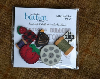 Stitch and Sew Buttons
