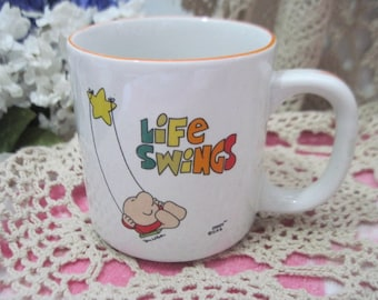 Ziggy Life Swing Cup, Ziggy Mug, Ziggy Coffee Mug, Mug, Coffee Cup, Vintage Mug, Vintage Dishes, Kitchen Decor, Gift Idea,  :)s*