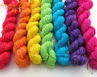 Pre-order: Rainbow Bright -  Colourful Smooth Sock Set