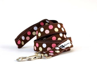 Leash - 6ft Candy Dots