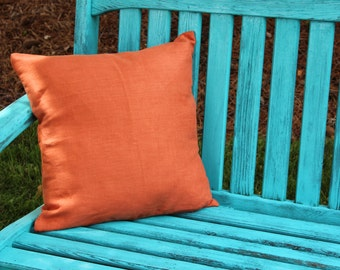 "Salmon Pillow Cover 18"""