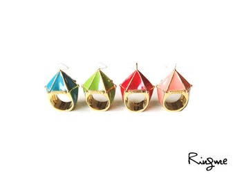 Ring Me // Contemporary Jewelry -- Circus tent Ring