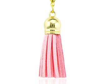 Pendant Charms pink Pompom