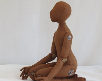 Cloth Doll Body Blank- Body Form