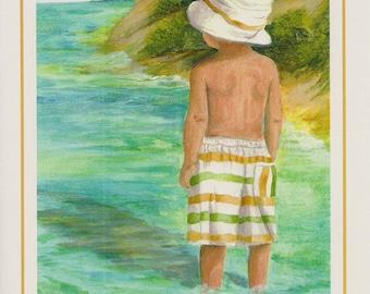 Sweet Innocence (Boy At Beach)