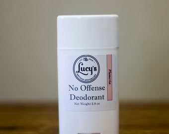 Deodorant - Plumeria - No Offense Deodorant byBlue L Essentials - The Scent of the Islands