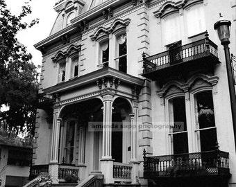 Savannah mansion Savannah Georgia photograph