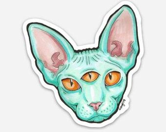 """Space Cat Sticker 2"""""""