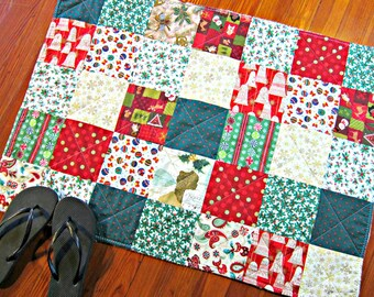 Christmas Rug, Bathroom Rug, Christmas Mat, Shower Mat, Laundry Room Rug, Nursery Rug, Christmas Decor, Kitchen Rug, Bath Mat
