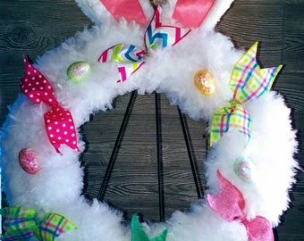 Handcrafted Easter Wreath