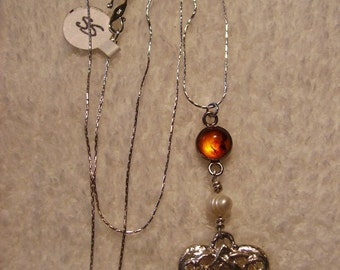 Necklace Sterling Silver Celtic Heart 2