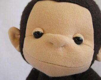 Sweater Monkey Plush PDF Pattern