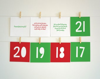 Advent calendar boxes printable christmas village countdown diy advent calendar kit advent activities for kids advent calender printable advent ideas solutioingenieria Images