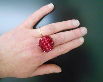 Crystal ring swarovski