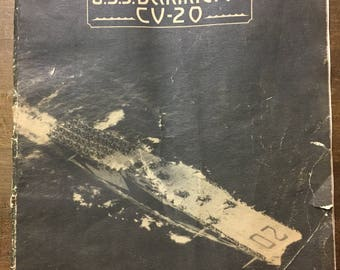 WW2 USS Bennington collection