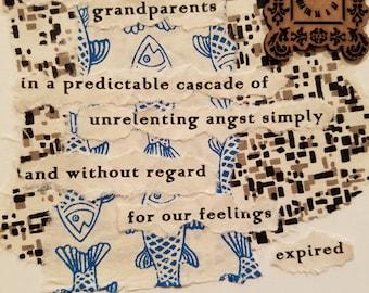 Poetry Art Card #2